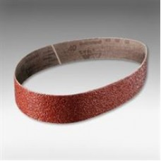 """Cloth belt 2920 siawood TopTec (aluminum oxide, red), grit 220, size 1-1/2"""" X 24"""" (38 x 610 mm), 10/pack"""