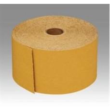 3M™ Stikit™ Gold Abrasive Sheet Roll, 02591, P320A, 2 3/4 in x 45 yd, 10 per case, 1 per pack, cost per roll