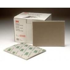 3M Softback Sanding Sponge 02600, Microfine, 20 per box, cost per box