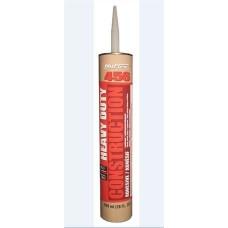 Nuflex 45680 Heavy Duty Construction Adhesive, Tan, 828ml, 12/case, cost each