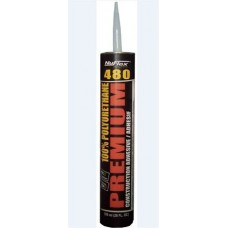 Nuflex 480 Premium Polyurethane Construction Adhesive, 48000, Tan, 296ml, 12/case, cost each