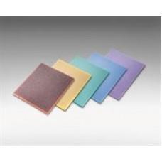 Sia Sponge Flat Pad, 5-1/ 2x4-1/ 2, Ultra Fine, blue, 7970, bulk, 250 per box, cost per pad
