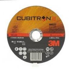 3M™ Cubitron™ II Cut Off Wheel 66527, T1 6 in x .045 in x 7/8 in, 25 per inner, 50 per case, cost per wheel