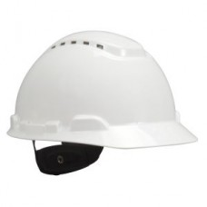 3M™ HARD HAT, H-701V, WITH 4-POINT RATCHET SUSPENSION, VENTED, WHITE, 20 PER CASE, COST PER EACH