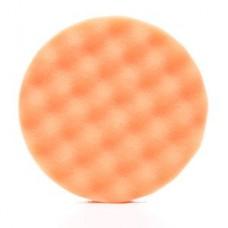 3M™ Finesse-it™ Buffing Pad 02362, 5-1/4 in Orange Foam White Loop, 10 per inner 50 per case, cost each