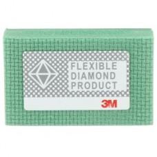 3M™ Flexible Diamond Hand Lap 6200J, 2-1/4 in x 3-3/4 in M250 Micron, 10 per case