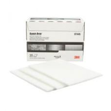 Scotch-Brite™ Light Cleansing Hand Pad, 07445, 6 in x 9 in, 20 pads per carton, 3 cartons per case