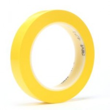3M(TM) Vinyl Tape 471 Yellow, 1/4 in x 36 yd, 144 per case Bulk