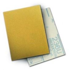 3M HOOKIT PAPER SHEET 236U, 3 IN X 4 IN P180 C-WEIGHT, 50 SHEETS PER CARTON 10 CARTONS PER CASE,  COST PER SHEET