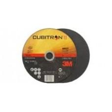 3M™ Cubitron™ II Cut Off Wheel T1 66516, 3 in x .06 in x 3/8 in, 25 per box, 50 per case