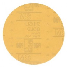 3M™ Hookit™ Gold Paper Disc, 216U, 00923, P600, A-weight, 6 in (15.24 cm)