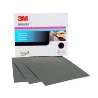 3M™ Wetordry™ Abrasive Sheet, 213Q, 02042, 9 in x 11 in (22.86 cm x 27.94), P240