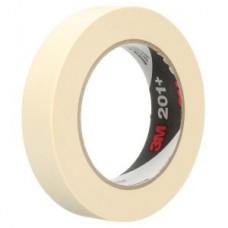3M™ General Use Masking Tape 201+ Tan, 18 mm x 55 m 4.4 mil,, 72 per box, cost per roll