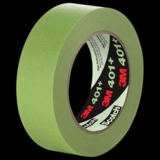 3M™ High Performance Green Masking Tape 401+, 36 mm x 55 m 6.7 mil, 16 per case Bulk, cost per roll
