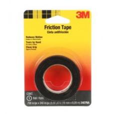 3M™ Friction Tape, 3407NA-BA-6, black