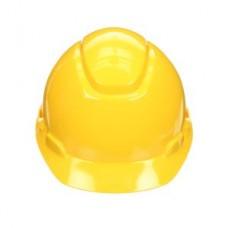 3M™ Hard Hat, H-702R-UV, 4-point ratchet suspension, UVicator sensor, yellow