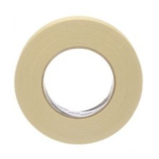 3M™ Specialty High Temperature Masking Tape, 501+, tan, 24 mm x 55 m