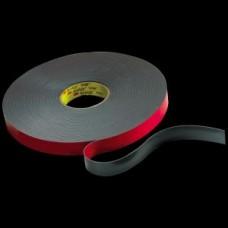 3M™ VHB™ Flame Retardant Tape, 5958FR, black, 1/4 in x 36 yd, 40.0 mil