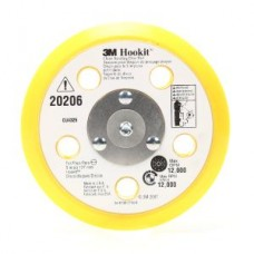 3M™ Clean Sanding Back Up Pad, 20206, 31 holes, 5 in x 1/2 in 5/16-24 ext