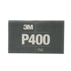 3M™ Flexible Abrasive Hookit™ Sheet, 34337, 5.5 in x 6.8 in (13.97 cm x 17.2 cm), P400, 25 sheets per box