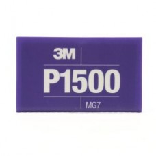 3M™ Flexible Abrasive Hookit™ Sheet, 34343, 5.5 in x 6.8 in (13.97 cm x 17.2 cm), P1500, 25 sheets per box