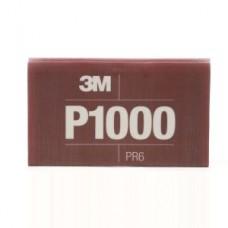 3M™ Flexible Abrasive Hookit™ Sheet, 34341, P1000, 5.5 in x 6.8 in (13.97 cm x 17.2 cm), 25 sheets per box