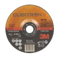 3M™ Cubitron™ II Cut and Grind  T27, 28758, 6 in x 1/8 in x 7/8 in, 10 per box, 20 per case