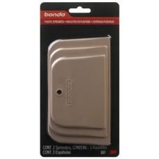 Bondo® Plastic Spreaders, 357, 3 per pack