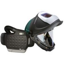 3M™ Adflo™ Powered Air Purifying Respirator with 3M™ Hard Hat, L-705SG, 34-0705-SGXX, Auto-Darkening Filter, 9100XX