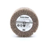 Scotch-Brite™ Cut and Polish Flap Brush, 3 in x 1-3/4 in x 1/4 in A MED, 10 per case