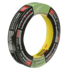 3M™ Automotive Masking Tape, 233+, 03431C, green, 0.7 in 104 ft (18 mm x 32 m)