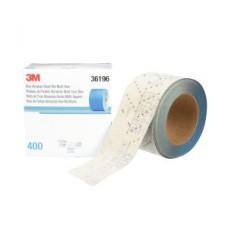 3M™ Hookit™ Blue Abrasive Sheet Roll, 321U, 36196, 400, 2-3/4 in x 13 yd (69.85 mm x 11.88 m)