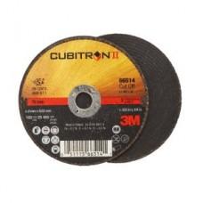 3M™ Cubitron™ II Cut Off Wheel T1 66514, 3 in x .035 in x 3/8 in, 25 per box, 50 per case