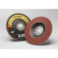 3M™ Cubitron™ II Flap Disc, 969F, T29, 80+, YF-weight, 4-1/2 in x 7/8 in