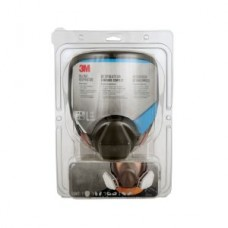 3M™ Full Face Paint Project Respirator, 69P71P1-DC, reusable, large, black