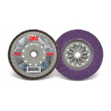 3M™ Flap Disc 769F, T27 5 in x 5/8-11 in, 40+ YF- weight, 10 per case