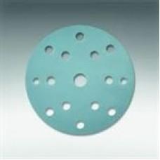 """Siafast disc 1948 siaflex (Paper, Aluminum oxide stearate, blue), grit100, size 6"""" (150 mm) DH-15, 100 per box, cost per disc"""