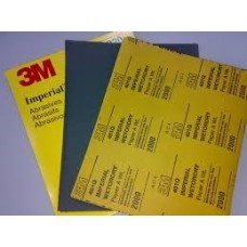 3M™ Wetordry™ Abrasive Sheet, 02033, 9 in x 11 in, 1200,  50 sheets per box, 5 boxes per case, cost per box