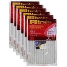 Filtrete™ Allergen Defense Micro Allergen Filter, 9801DC-6C, MPR 1000, 16 in x 25 in x 1 in, 1 per pack, cost each