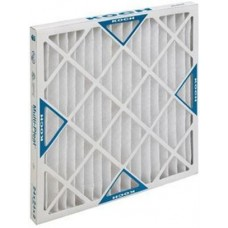 Pleated Air Filters, 25X20x4, 6/case, Unit case, cost per case