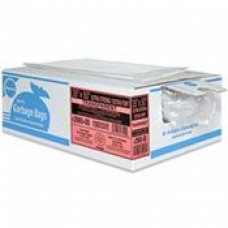 GARBAGE BAG 26 X 36  EXTRA STRONG, CLEAR, CASE OF 125, cost per box