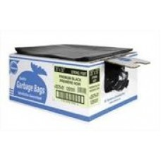 Garbage bag 26x36 Black Strong Degradable, 200/case, cost per box