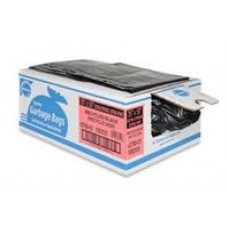 GARBAGE BAG 35X50 EXTRA STRONG BLACK, case of 100,, cost per box