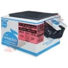 GARBAGE BAG 42X48 EXTRA STRONG BLACK, 75/BOX, cost per box