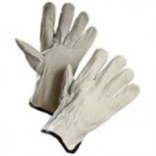 016-2640E Cowgrain Ropers, Leather, Elastic Wrist, Large, 12 pairs per bag, cost per bag