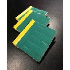 MF.F45_.100Y07.A80 Sia Multi Flex Brush 10cmx7mm slit, A/ O grit 80, 1 per brush, cost per brush