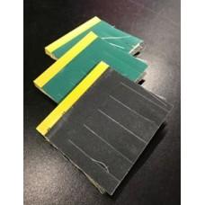 Sia Multi-Flex Brush Dual Sided Single Brush 7.5cm length, Grit A180/ S320,  7mm Slit, 1 per brushcost per brush