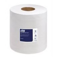 Tork hand Towel Centerfeed, White, 2 ply, 610 towels per roll, 6 rolls/case, cost per case