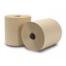 Jubilee shop roll #1606 natural Kraft, 8inx205ft, 24 rolls per case, cost per case