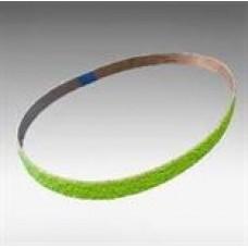 "Cloth belt 2511 siabite (ceramic, green), grit 80, size 1-1/8"" X 21"" (29 x 533 mm), 10/pack"